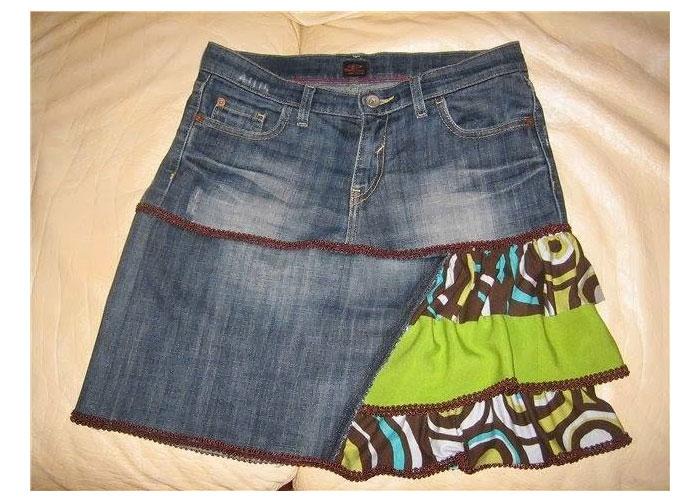 Джинсовые платья и сарафаны, джинсовые юбки в интернет-магазине QUELLE - женская