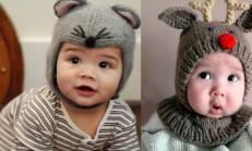 Çocuklar İçin Örgü Şapka Modelleri