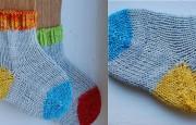 Örgü Bebek Çorap Modelleri