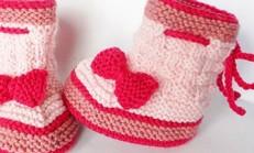 Tığ İşi Bebek Patik Modelleri (yeni)