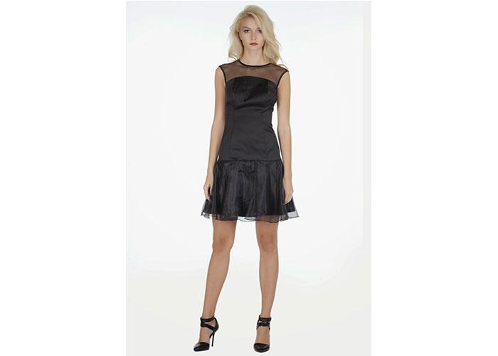 Dantel Örgü Bayan Elbise Modelleri