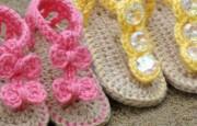 20 Adet Ücresiz Bebek Sandalet Modeli