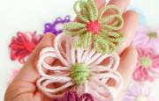 Hızlı ve Pratik Şekilde İp İle Çiçek Yapımı
