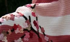 Kiraz Ağaçlı Bebek Battaniyesi Yapılışı