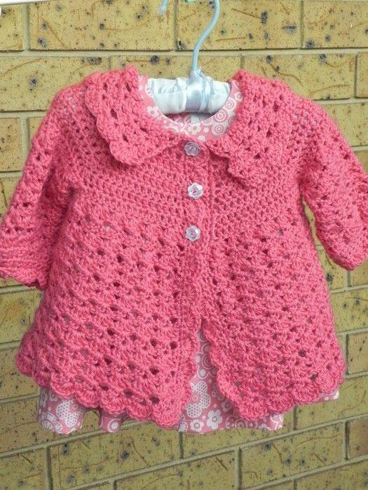 Free Crochet Pattern Little Girl Sweater : tig-isi-kiz-bebek-hirka-ve-kazak-modelleri-8 - ?rg? Bahcem