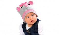 Tığ İşi Bebek Şapkaları Anlatımlı (Hayvan Figürlü)