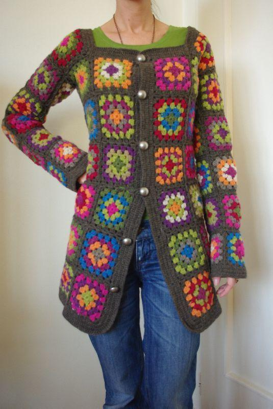 Free Crochet Granny Square Vest Patterns : Han?m Dilendi Bey Be?endi Yelek Ve H?rkalar? ?rg? Bahcem