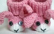 Örgü İle Yapılmış Hayvan Figürlü Bebek Patikleri