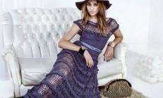 Tığ İşi Uzun Elbise Modelleri