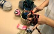 Parmak Örgü Tekniği İle Renkli Atkı Yapımı