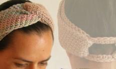 Modern Örgü Saç Bandı Modeli ve Yapılışı