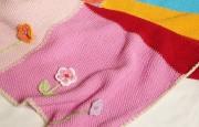 Renk Renk Kare Battaniye Modeli