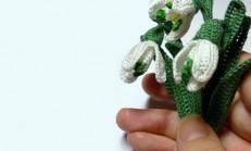 Tığ İle Kardelen Çiçeği Nasıl Yapılır ?