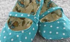 Kumaştan Bebek Ayakkabısı Nasıl Yapılır ?