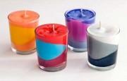 Dekoratif Renkli Mum Nasıl Yapılır ?
