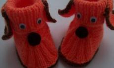 Tavşan Şekilli Örgü Bebek Patiği Modeli Ve Yapımı