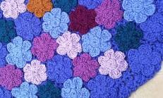 Kabartma Çiçek Motifleri İle Yuvarlak Örgü Paspas Yapılışı