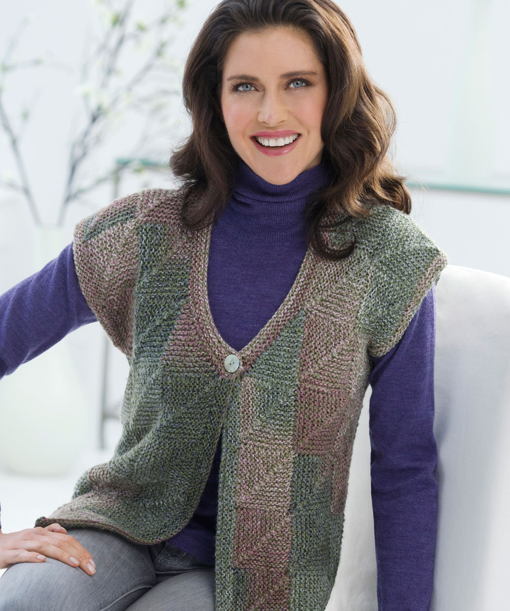 Knitting Patterns For Vest Tops : Bayanlar ?cin Zarif orgu Yelek Modelleri orgu Bahcem