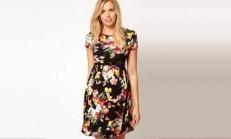 17 Adet Hamileler İçin Modern Elbise Modeli