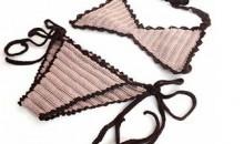 Hand Crochet Sexy Bikini / Crochet Swimsuit With Adjustable Sizes