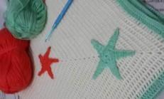 Elişi Yıldız Motifli Battaniye Modeli Ve Yapımı