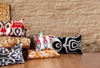 Değişik Tasarımlı Kumaş Yastık Modelleri
