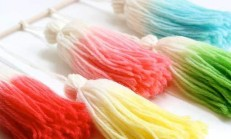 Renkli Perde Püskülü Nasıl Yapılır ?