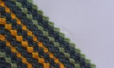 Diyagonal Örgü Kutu Motifi Nasıl Yapılır ?