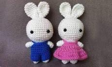Amigurumi Oyuncak Tavşan Yapımı