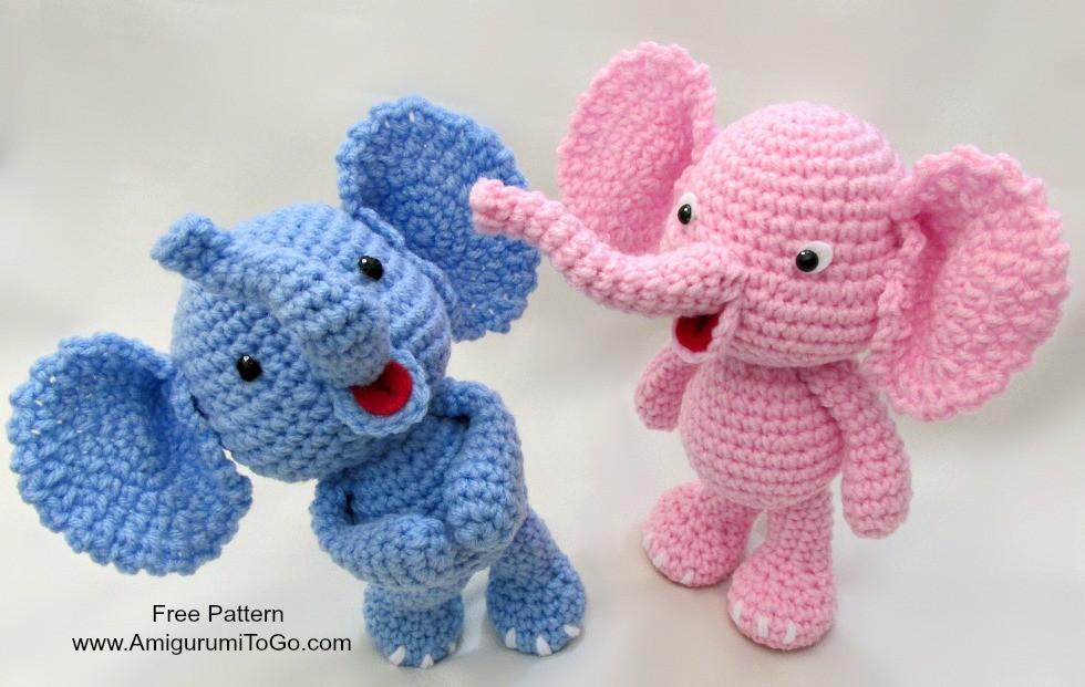 Amigurumi Anahtarlık Yapımı : Amigurumi oyuncak fil yapılışı free pattern Örgü bahçem