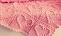Popcorn Örgü Battaniye Yapımı ( Popcorn Crochet )
