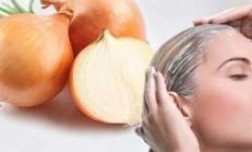Beyaz Saçlarınızdan Soğan Kürü İle Kurtulun
