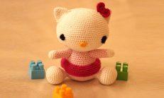 Amigurumi Hello Kitty Örgü Oyuncak Tarifi