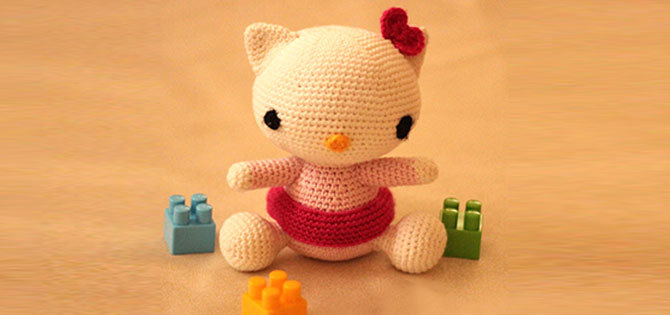 HELLO KITTY AMIGURUMI - YouTube | 315x670
