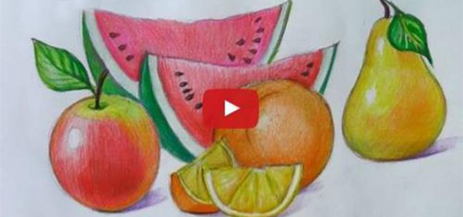 Meyve Resimleri Nasıl çizilir Videolu Anlatım örgü Bahçem