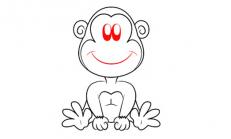 Kolay Şempanze Ve Maymun Nasıl Çizilir ?