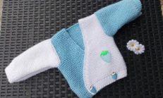 Örgü Bebek Hırkası Örnekleri
