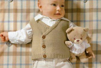 Örgü Erkek Bebek Süveter Modelleri